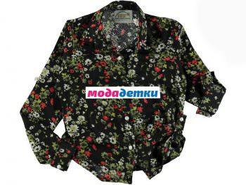 блузка (тонкая) 10-11-12-13 лет